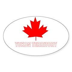 Yukon Territory Oval Decal