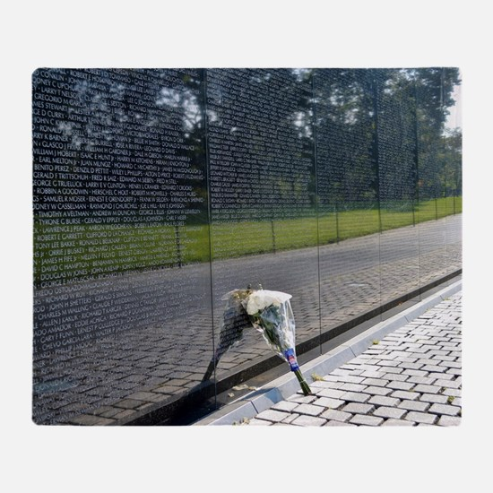 Vietnam Memorial Throw Blanket