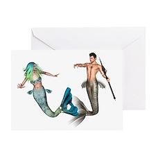Poseidon Greeting Card