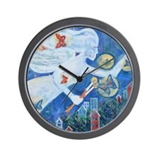 """The Angel of Hope"" by Studio OTB Wall Clock"