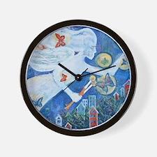"""The Angel of Hope"" by Studio OTB Wall Clock"