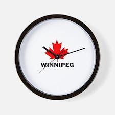 Winnipeg, Manitoba Wall Clock