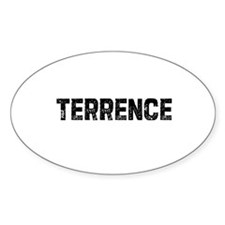 Terrence Oval Decal