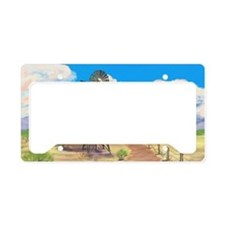 Southwest Windmill License Plate Holder