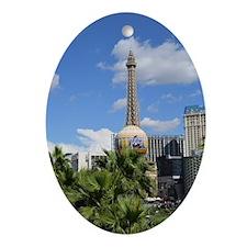 Las Vegas Oval Ornament
