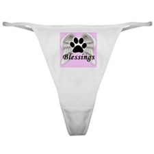Our Pets are Our Blessings Classic Thong