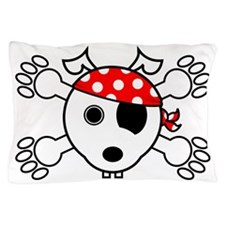 pirate dog Pillow Case