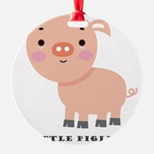 Little Piglet Ornament