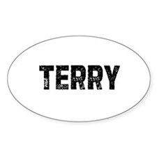 Terry Oval Decal
