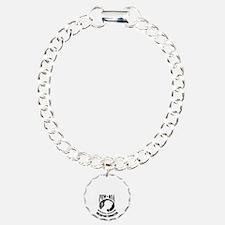 POW-Never-Forget-blk Bracelet