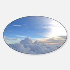 flymetothesky Sticker (Oval)