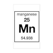 Manganese Rectangle Decal