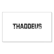 Thaddeus Rectangle Decal
