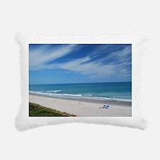 Melbourne Beach Rectangular Canvas Pillow