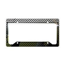 Deerhound License Plate Holder