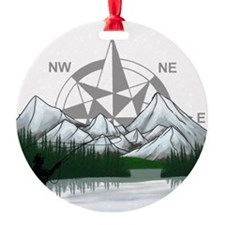 Nature Fly Fishing Ornament