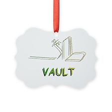 Pole Vaulting Ornament