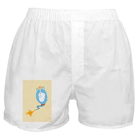 Corgi Genie Boxer Shorts