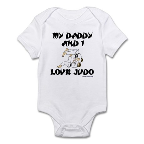 MY DADDDY AND I LOVE JUDO Infant Bodysuit