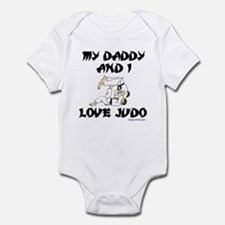 MY DADDDY AND I LOVE JUDO Onesie