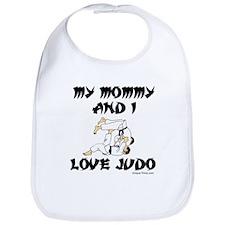 MY MOMMY AND I LOVE JUDO Bib