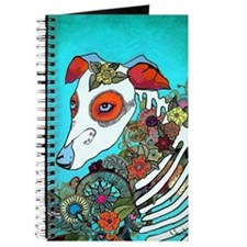 Dia Los muertos, day of the dead dog Journal