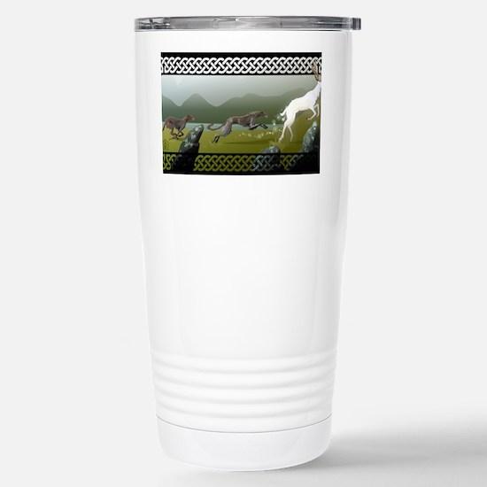 Deerhound Stainless Steel Travel Mug