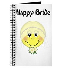 Smiley Face Bride Journal