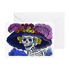 La Calavera Catrina Greeting Card