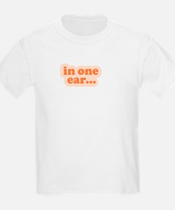 """In One Ear"" Twins T-Shirt"