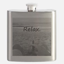 Life is a Beach Flask