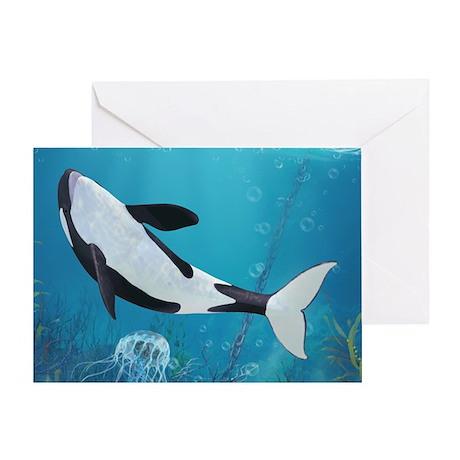 o2_pillow_case Greeting Card
