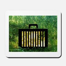 Untitled (briefcase/nature) Mousepad