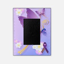 Purple Fibro Awareness Picture Frame