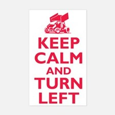 Keep Calm and Turn Left Decal