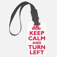 Keep Calm and Turn Left Luggage Tag