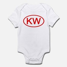 KV Oval (Red) Infant Bodysuit