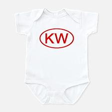 KV Oval (Red) Onesie