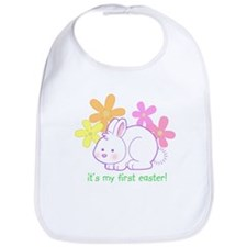 First Easter Bunny Bib