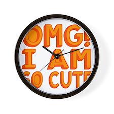 OMG I am So Cute Wall Clock