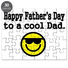 Happy Fathers Day to a cool Dad Puzzle