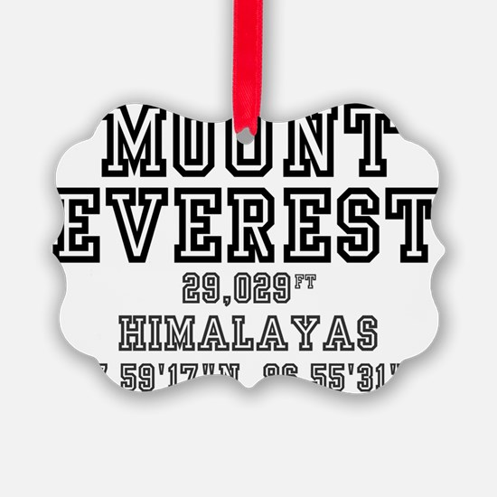 MOUNTAINS - EVEREST NEPAL Ornament