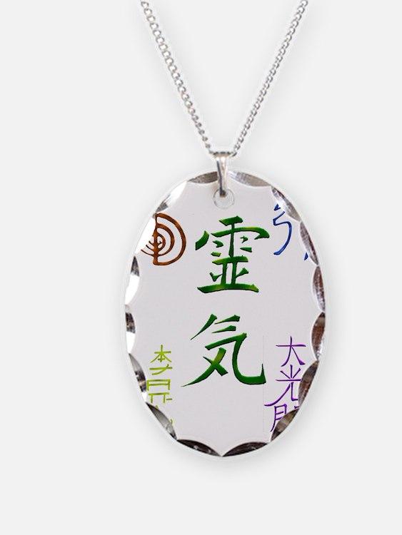 Reiki Symbols Necklace