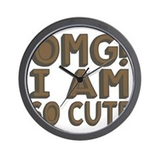 OMG! I am so Cute! Wall Clock
