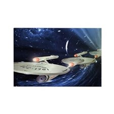 Star Trek Enterprise Poster Rectangle Magnet