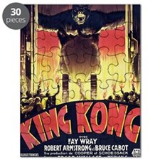 King Kong 1933 French poster Puzzle