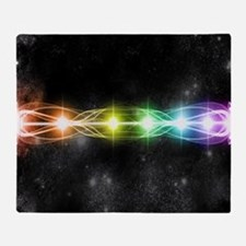 7 chakra H Mouse pad Throw Blanket