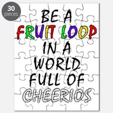 Fruit Loop in A World of Cheerios Funny Puzzle
