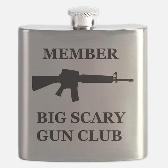 Big Scary Gun Club Flask