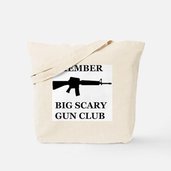Big Scary Gun Club Tote Bag
